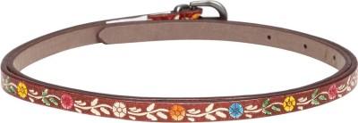 Dressberry Women Brown Synthetic Belt