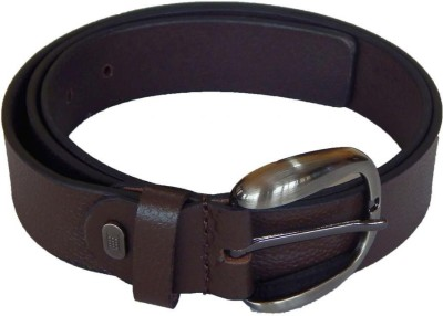 Shilgrow Men Casual Brown Genuine Leather Belt