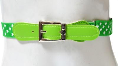 Gen Boys Green Fabric Belt