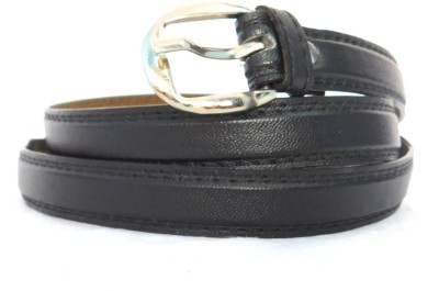 FINCH FEATHER Girls, Women Casual, Formal Black Artificial Leather Belt