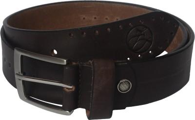 Czar Enterprises Boys Casual Brown Genuine Leather Belt