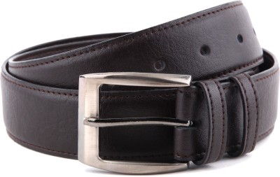 Bluth Men Formal Black Artificial Leather Belt