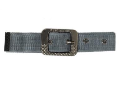 Bs Spy Women Casual Grey Canvas Belt