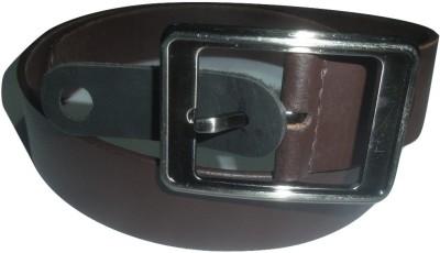 EVG Men Brown Genuine Leather Belt