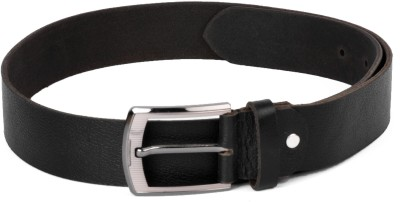 Buckleup Men Black Genuine Leather Belt