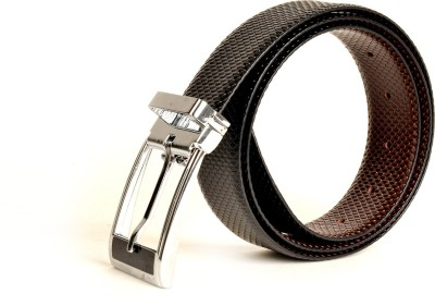 Just Differ Men, Boys Casual, Evening, Formal, Party Black Genuine Leather Belt