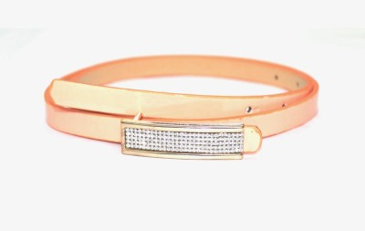 Amafhh Girls Party Pink Artificial Leather Belt