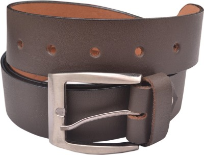 Laram Men Formal Brown Genuine Leather Belt