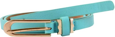 Antiformal Women Party, Casual Blue Artificial Leather Belt