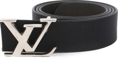 Lotus Designer Men, Women Casual Black Genuine Leather Belt