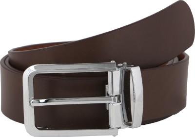 Vinson Massif Men Formal, Casual, Evening Black, Brown Genuine Leather Belt