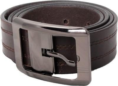 Ox Men Formal Brown Genuine Leather Belt