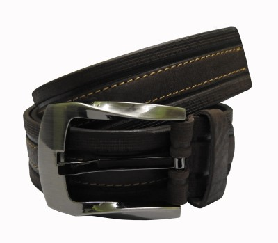 Cavallo Men Casual, Evening, Party Brown, Green Genuine Leather Belt