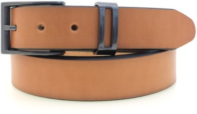 Syborite Boys, Men Casual, Party, Formal Brown Genuine Leather Belt