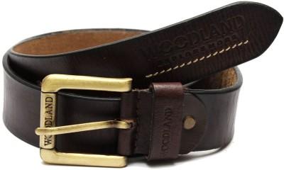 Simran Girls Brown Artificial Leather Belt