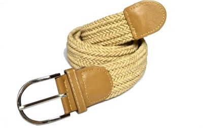 VICTORIA SECRET INDIA Girls Khaki Fabric Belt