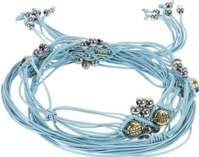 Jainsons Women Casual Blue Fabric Belt