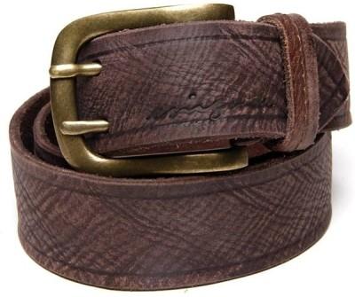 Enigma Men Casual Brown Genuine Leather Belt