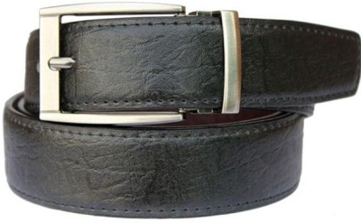 Kesari Men Casual Black, Brown Artificial Leather Reversible Belt