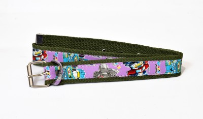 Gen Boys Casual Green Canvas Belt