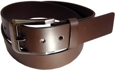 Naysa Men Formal Brown Genuine Leather Belt