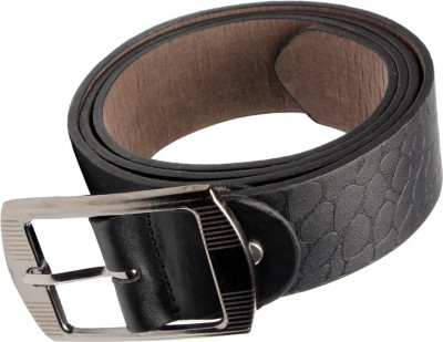 Stylemax Men Casual Black Artificial Leather Belt