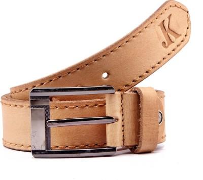 Junckers Men, Men Casual, Party, Formal, Evening Beige Genuine Leather Belt