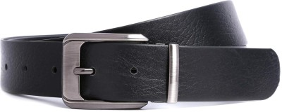 Bluth Men Casual Black Synthetic Belt