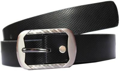 Bacchus Men Formal Black Artificial Leather Belt
