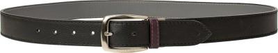 Hidesign Men Casual Black, Grey Genuine Leather Reversible Belt