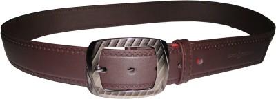 Reddish Men Brown Artificial Leather Belt