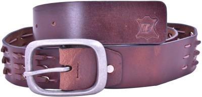 Bonafide Leathers Men Brown Genuine Leather Belt