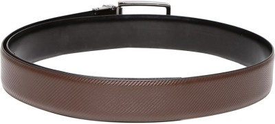 Harvard Men Formal Black Artificial Leather Belt