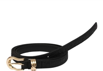 SRI Women Casual, Party Black Artificial Leather Belt