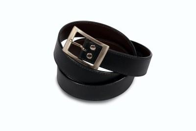 Victoria Secret Men Black Artificial Leather Belt