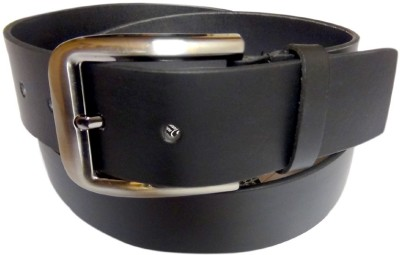 Maskhino Men Formal Black Genuine Leather Belt