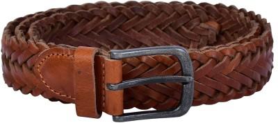 Lafaas Men Party Tan Genuine Leather Belt