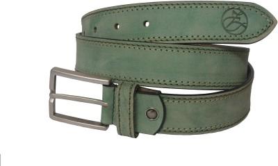 Czar Enterprises Boys Casual Green Genuine Leather Belt