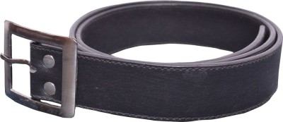 People 4 Cause Men Formal Black Genuine Leather Belt