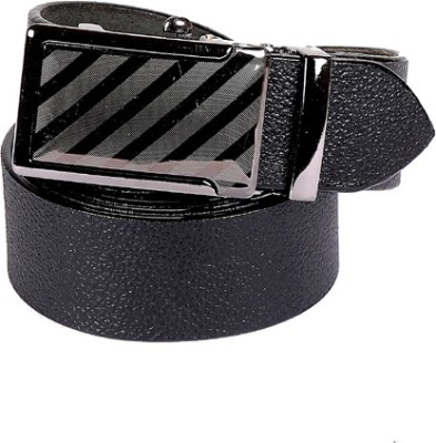 Edinwolf Men, Boys Formal, Party, Casual Black Genuine Leather Belt