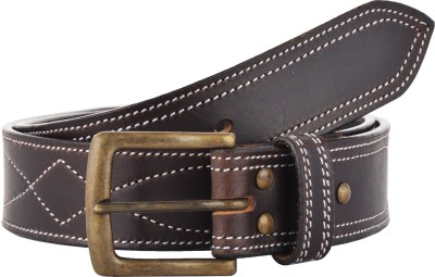 Sterling Germany Men Casual Brown Genuine Leather Belt
