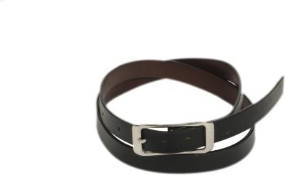 Bs Spy Women Casual Black Artificial Leather Belt