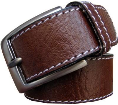 Bacchus Men Formal Brown Genuine Leather Belt