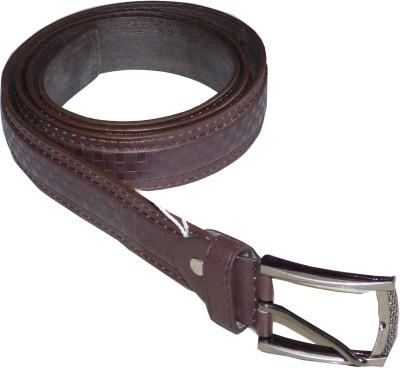 JTM Trading Men, Men Casual, Evening Brown Artificial Leather Belt
