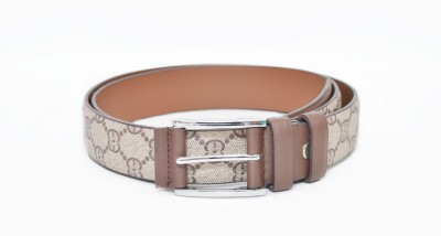 Crux&Hunter Girls Casual Beige Artificial Leather Belt