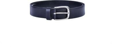 Lafaas Men Casual Black Genuine Leather Belt