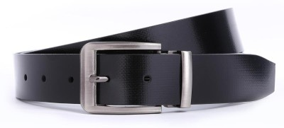 Bluth Men Formal Black Synthetic Belt