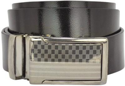 Bueva Men Casual, Formal Black Synthetic Belt