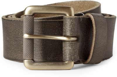 Louis Philippe Men Green Artificial Leather Belt