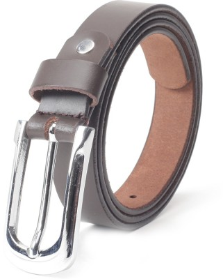 Chisel Women Casual Brown Genuine Leather Belt